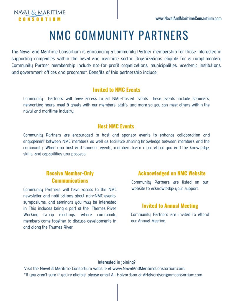 Flyer describing Community Partners benefits